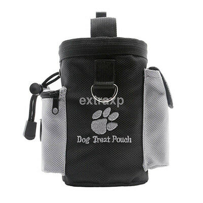 Pet Treat Pouch for Training and Walking - Dog Training Pouch Treat Bag CA