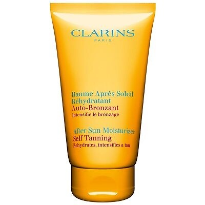 Clarins After Sun Moisturiser with Self Tanning Action 150ml for women