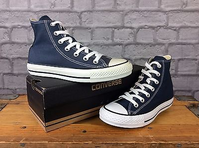 Converse Navy Blue Chuck Taylor Hi Trainers Ladies Mens Unisex Various Sizes