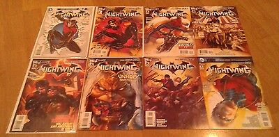 Dc Comic: Nightwing New 52 #0-7 Complete 8 Comics 1 4 Key Issues Higgins Barrows