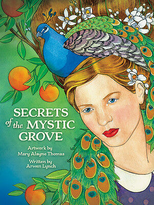 Secrets of Mystic Grove NEW 44 color cards 96 pg book Arwen Lynch Mary A. Thomas