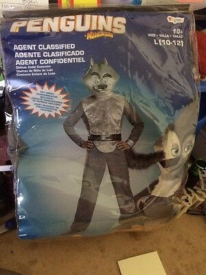 Penguins Madagascar Costume Agent Classified So 10/12