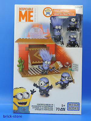 Mattel Mega Blocks Minions / DKX77 / Fortress burglary