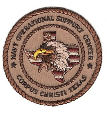 NAVY OPERATIONAL SUPPORT CENTER MERIDIAN Militaria MISSISSIPPI PATCH