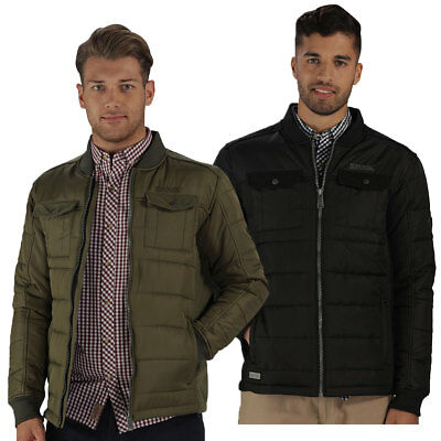 Regatta Mens 2017 Larrie Insulation Quilted Ribbed Jacket 66% OFF RRP