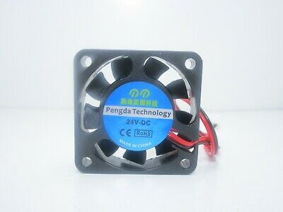 Ventola cooling fan 40x40x10mm 24V 0.1A 7000RPM 27db stampante 3D 2 pin 9CFM