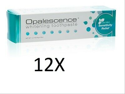 Ultradent Opalescence Whitening Toothpaste Sensitivity Relief 4.7oz (12 pack)