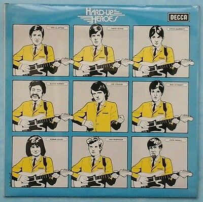VARIOUS ARTISTS ~ HARD-UP HEROES ~ 1974 UK 24-TRACK MONO 2LP RECORD SET [Ref.2]