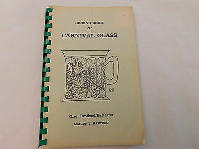 Second Book Of Carnival Glass - Hartung - Ca 1965