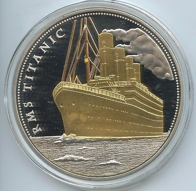 GX606 - Medaille Gigant RMS Titanic - 100 Jahre White Star Line 1912-2012 PP