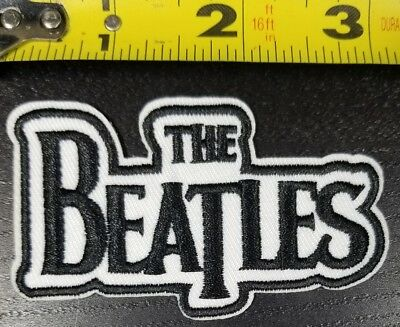 "USA Seller 3"" THE BEATLES Embroidered Iron On patch patches Rock n Roll band"