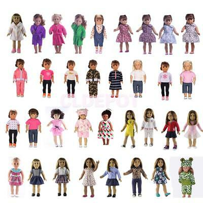Pretty Doll Clothes for 18 Inch American Girl Our Generation Dolls Dress Up Accs