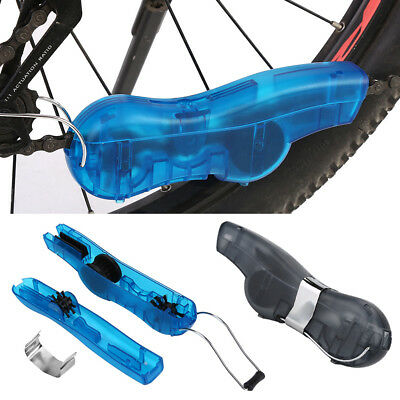 Bicycle Cycling Mountain Bike Chain Cleaner Cleaning Washer Tool Accessories DY