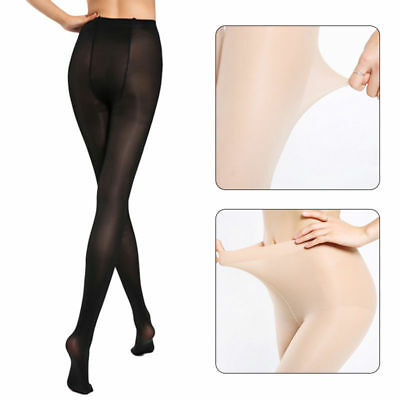 Plus Size Ultra Elastic Tights Stockings Women Shaping Pantyhose Mesh Socks 30D