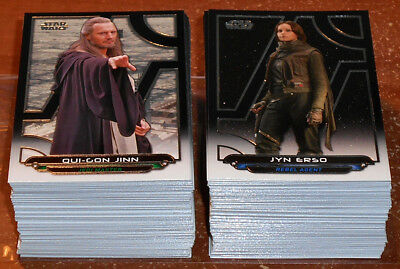 Star Wars Galactic Files Reborn ~ COMPLETE 200-CARD BASE SET
