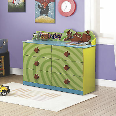 O'Kids Kid's Dresser- Scooby-Doo