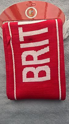 British and Irish Lions Rugby New Zealand 2017 OFFICIAL SCARF BRAND NEW & TAG