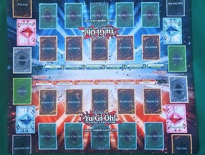 Yugioh 2 Player Playmat With Pendulum Zones