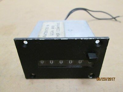 New Other, Veeder-Root 159106020 Counter, 24V Dc, 6 Digits.