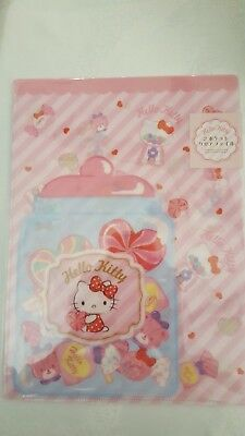 "7/""X4.75/"" NEW Sanrio Hello Kitty/&Friends 12 Pocket Expandable File Folder"