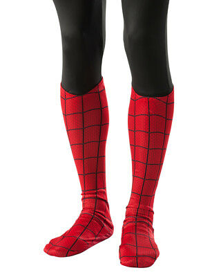 Adults Marvel Amazing Spiderman Boot Top Leg Covers Costume Accessory