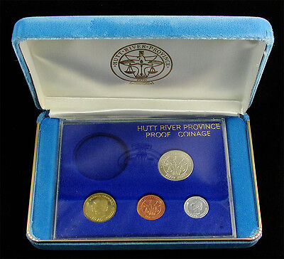 Hutt River Province 1976 Proof Set = Prince Leonard = Blue Mint Case/coa
