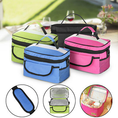 Waterproof Portable Thermal Cooler Insulated Tote Picnic Lunch Bag Storage Box