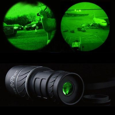 Telescope 40X60 Dual Focus Monocular HD Optics Zoom Day Night Vision Waterproof