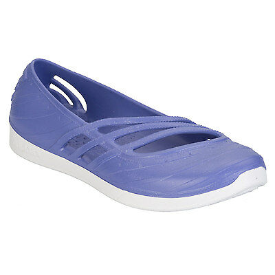 Womens adidas adidas QT Comfort Jelly Shoe in Purple - UK 4 From Get The Label