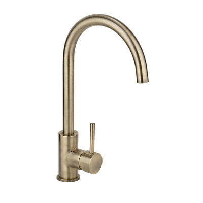 New Brass Swivle Gooseneck KITCHEN TAP MIXER Tapware Handle