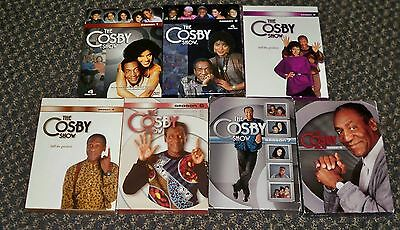 The Cosby Show Seasons 1, 2, 3, 4, 6, 7, 8 DVD sets