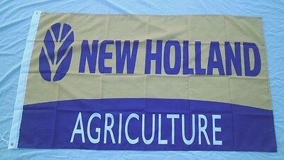 New Holland Tractor Equipment 3' X 5' Polyester Flag Banner NEW # 225