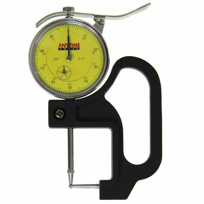 Reloading Thickness Gauge Quick Tube Measuring Ball Anvil Dial Indicator 1/0.001