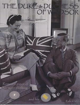 The Duke & Duchess of Windsor-Remnants of Their Worn Clothing