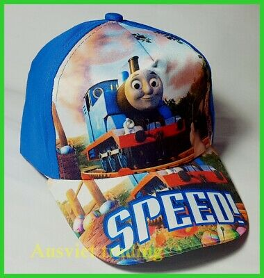 Brandnew Thomas The Tank Engine boys kids children Cap Hat Brand new cotton BLUE