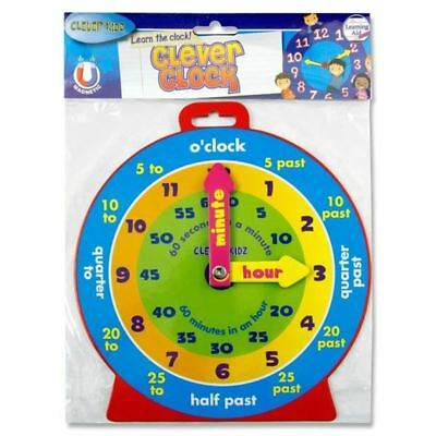 Clever Kids Colour Learn & Play Magnetic Clock