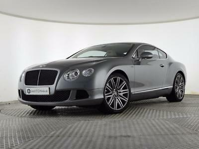 2014 Bentley Continental 6.0 Speed W12 GT 2dr