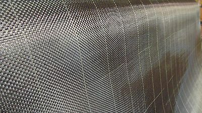 """Carbon Fiber Fabric 3K Plain Weave 6 Oz. 42"""" Wide X 3 Yards Long With Tracers !"""