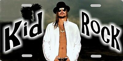 "Kid Rock Color Photo License Plate 12""x6"" HIGH QUALITY ALUMINUM A MUST HAVE!!"