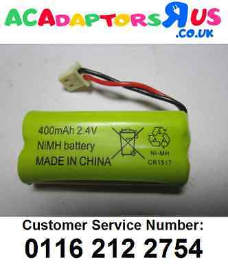 Genuine NiMH 2.4V 400mAh Rechargeable Battery 4 Motorola MBP MBP16Baby Monitor