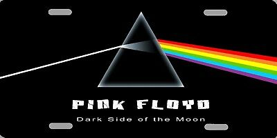 "Pink Floyd Dark Side of the Moon Auto License Plate 12""x6"" HIGH QUALITY ALUMINUM"