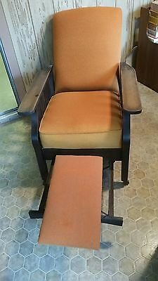 Antique Royal Easy Mission Arts & Crafts Reclining Lounge Morris Chair Recliner