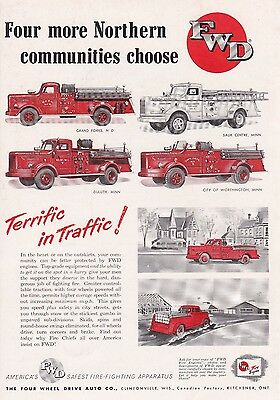 Fwd Apparatus  Is Picked By Four Northern Communities  1954 Ad        6864