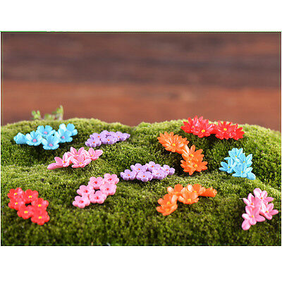 Random Miniature Dollhouse Mini Poker Garden Fairy Bonsai Plant Landscape 1pc ♫