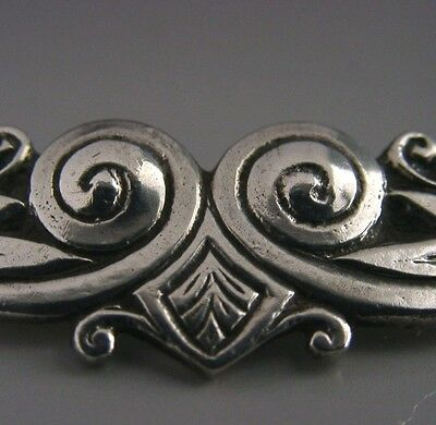 Rare Sterling Silver Arts & Crafts Bernard Instone Celtic Style Brooch