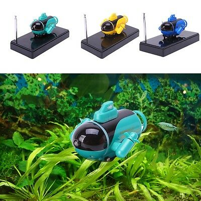 Portable Mini RC Racing Submarine Boat With Remote Control Toys Gift Hobby Toys