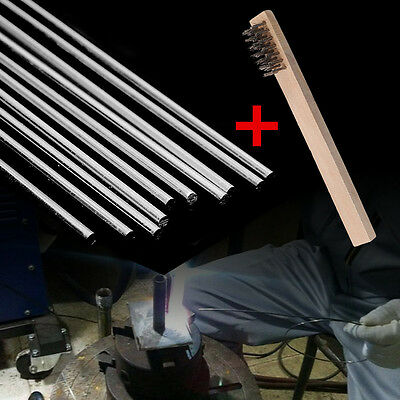 Aluminum Repair Welding Brazing Soldering Stainless Steel Rods With Wire Brush