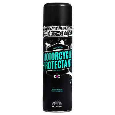New Muc-Off Motorcycle Bike Cleaning Care Premium Protectant After Wash 500ml