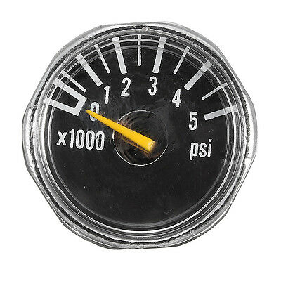 1'' Mini High Pressure Micro Gauge 5000 psi For HPA Paintball Tank CO2 PCP