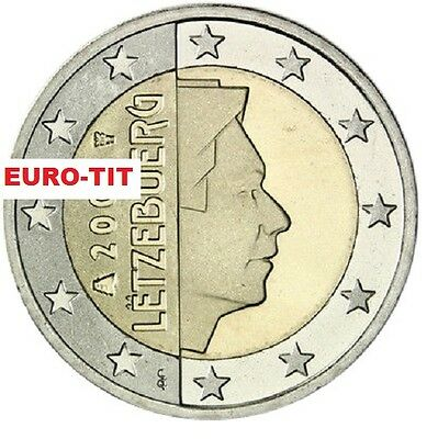 2 EURO    LUXEMBOURG    2007     PIECE    SUPERBE     LUXEMBOURG      disponible